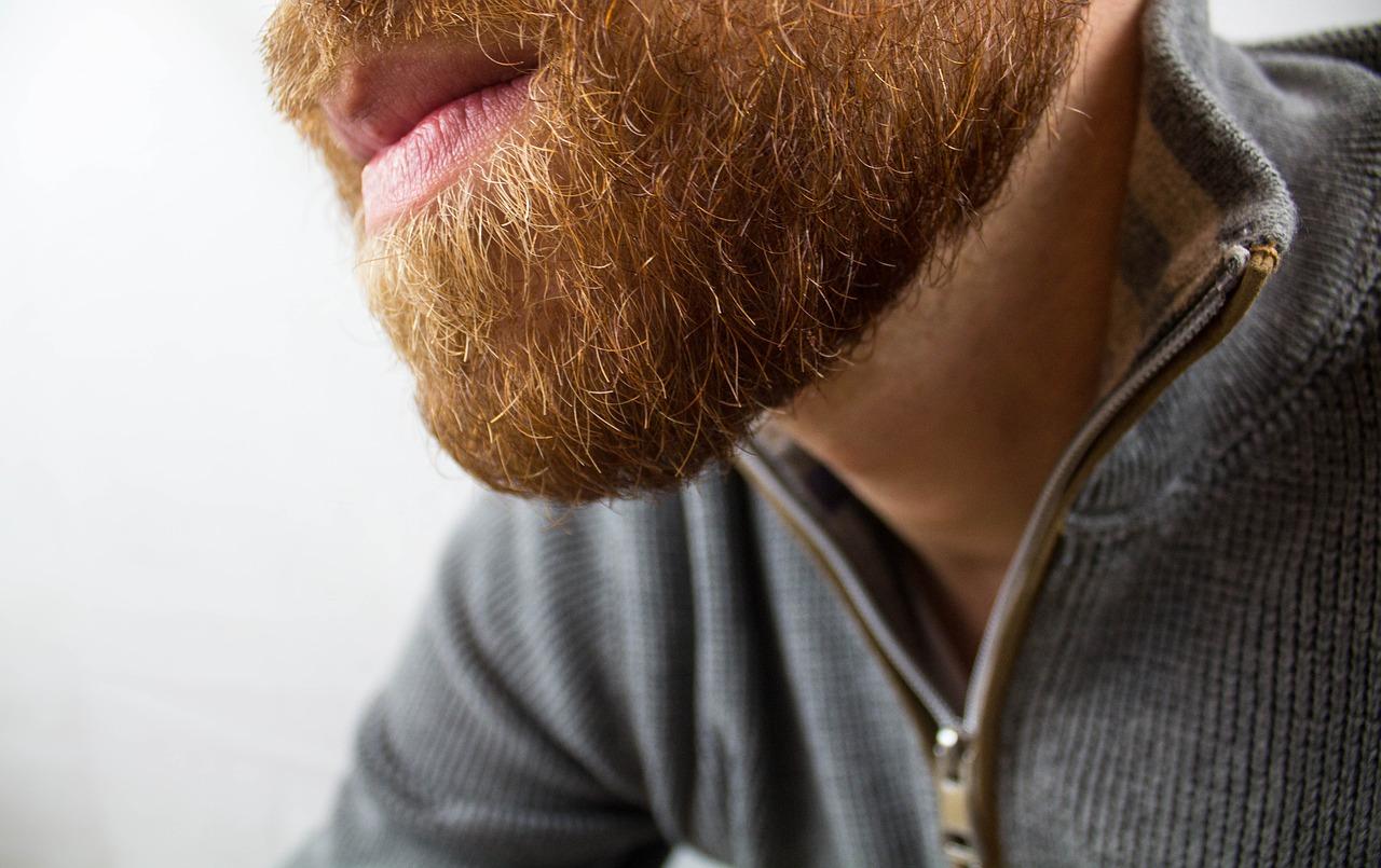 Mit Kokosoel den Bart pflegen
